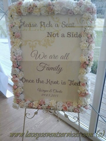 Table Plan Easel Hire Mirror Hire Amp Frame Hire For