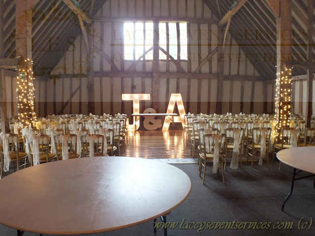 Venues Cheltenham Banqueting Chairs At Blake Hall Barns And Provided Silver Storm Lanterns For Outdoor Lighting This Summer Wedding In Ongar Es