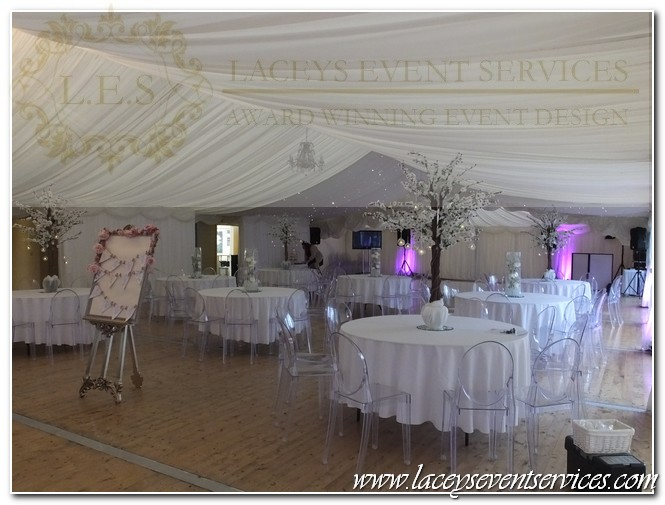 Moor Hall Wedding Centrepieces Aveley Es