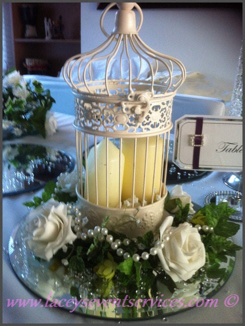 Wedding Centerpiece Hire Including Set Up In Essex London