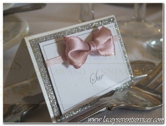 Luxury Wedding Place Card
